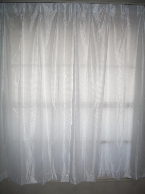 ミラーカーテン4503ホワイト