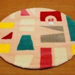 ツミキ マット円形 マルチ   90㎝×90㎝ 丸